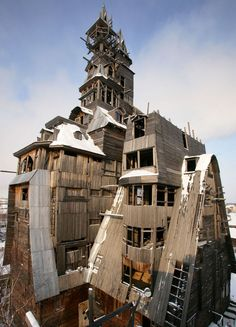 To each their own...especially when it comes to houses. Everyone has different tastes, some just happen to be a little more odd, elaborate, or down right exciting, than others. The following is a list of 10 of the most unique and odd custom-built homes from around the world.