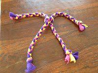 Knick Knack Patty Whack Pet Services: Homemade Fleece Dog Toys