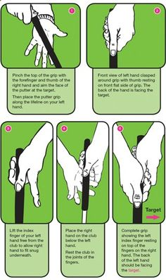 You have to grip the club correctly in order to properly hinge your wrists in the golf swing. game-inglove has a shaft palm line to help you do this. There is also an integrated laser for your swing path to really help you golf game soar. Best golf training aids 2015 #AllAboutGolfAndGolfThings!