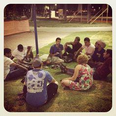#Parque13deMaio, #PG, #DIscipulado, #Estudar, #Questionar, #Aprender - Photo by arcabr