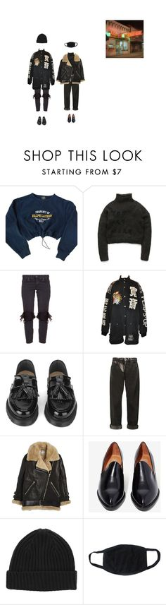 """blood"" by velvetpeach ❤ liked on Polyvore featuring Polo Ralph Lauren, One Teaspoon, YMC, McQ by Alexander McQueen, Acne Studios and Jeffrey Campbell"