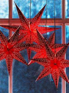 Dot julstjärna i papper