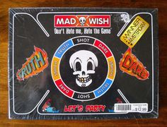 #REBELZGAMES #MadWish #TruthorDare #Snitch #Shot #PartyGame #DrinkingGame NIB, NWT