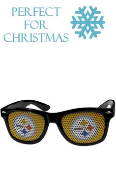 107358e789 Our officially licensed game day shades are the perfect accessory for the  devoted Pittsburgh Steelers fan