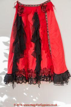 Flamenco Rose Gypsy Bohemian Alternative Dancing by RagsForGypsies