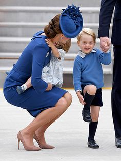 The Royal Fab 4 Take Canada! William, Kate, George and Charlotte Touch Down for Their Big Tour| The British Royals, The Royals, Kate Middleton, Prince George, Prince William, Princess Charlotte