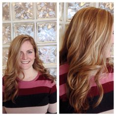 Adding dimension and amazing blonde highlights for some fun under the sun! #Fashion By Danielle @modernconceptssalon