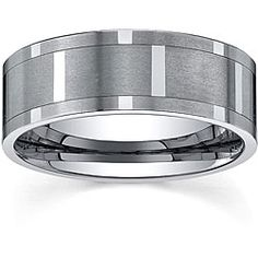 Men's Tungsten Comfort-fit Spinner Band (9 mm) - Overstock™ Shopping - Big Discounts on Men's Rings