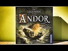 Die Legenden von Andor - Teil 2, Die Reise in den Norden (Erweiterung) - Brettspiel Test - Spiel #60 - YouTube