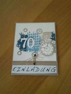 stampin up 60. geburtstag | schönes aus papier | pinterest | cards, Einladungen
