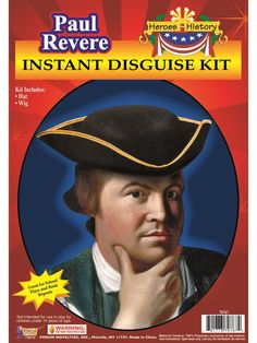 Check out Adult Paul Revere Kit | Costume SuperCenter | Buy Yours On Sale from Costume  sc 1 st  Pinterest & Costume SuperCenter (costumesc) on Pinterest