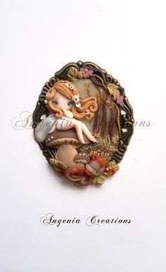 fairy on a toad stool.