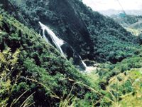 PN Serra do Caparaó: Vista da Cachoeira da Fumaça  Foto: Nathalia Zandavalli Lopes
