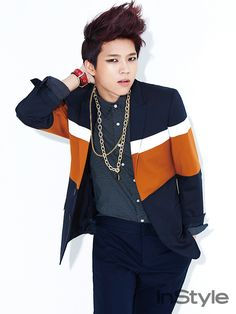 Woohyun - InStyle Magazine April Issue '14