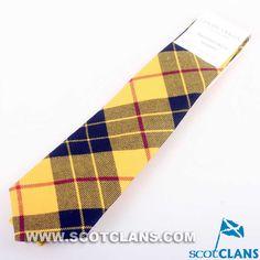 MacLeod of Lewis River Tartan Tie
