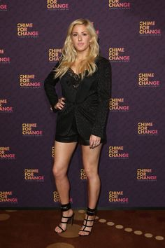 Ellie Goulding's Chime For Change ensemble was pretty, but it was her   Shoe…