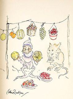 Goblin Market by Christina Rossetti, 1933 (Watercolors)