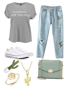 """""""Chilling in Arizona"""" by sassievanrobays on Polyvore featuring Converse, Jennifer Lopez, Bing Bang and Lord & Taylor"""