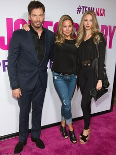 Family first: Harry Connick Jr. arrived to the premiere with his wife Jill…