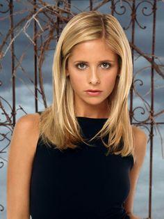 Buffy, The Vampire Slayer.... fun drama with wonderful repartee...
