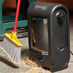 You may think this Crowley Jones EV1850 Eye-Vac Pro Electric Dustpan represents the ultimate in laziness. But if you have back issues, this smart vacuum/dustpan is for you. Just set the unit to automatic mode and sweep the debris toward it. The motion sensor detects when your broom is within range and starts up the vacuum. Aim the dirt pile toward the suction port and the vacuum will suck it up. If you have pets, they may activate the motion detector when they walk by. That's why there's a…