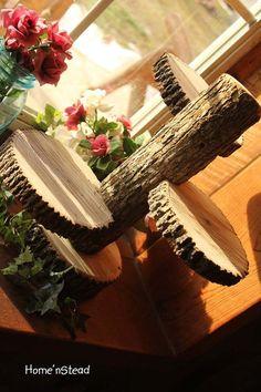 Large 3Tiered Rustic Wedding Decor Tree Mason Jar / by HomenStead,