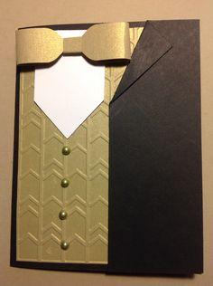 Black tie club card cased.