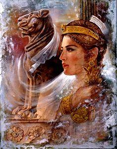 prominent Iranian princess  ANAHID