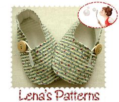 Image of Baby Loafer shoes sewing