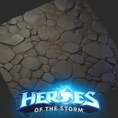 Stone texture I made for heroes, with broken variation. Texture Painting, Paint Texture, Game Textures, Heroes Of The Storm, Stone Texture, Neon Signs, 3d Modeling, Inspiration, Artworks
