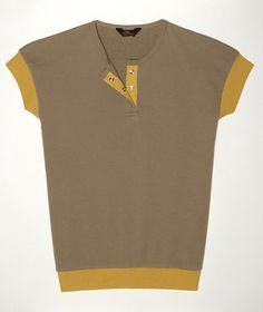 Sleeveless Henley Sweatshirt: KNITS and TEES | Free Shipping at L.L.Bean Signature