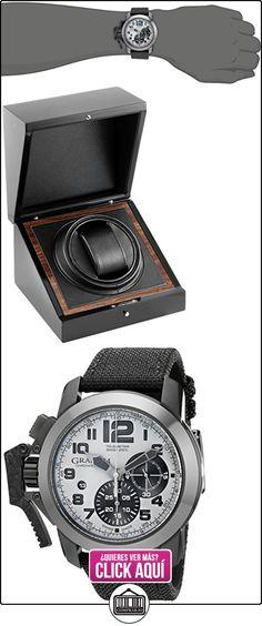 Graham Hombre 2ccau. S01A chronofighter pantalla analógica Swiss-Reloj automático negro  ✿ Relojes para hombre - (Lujo) ✿ ▬► Ver oferta: http://comprar.io/goto/B00CJBR3PS