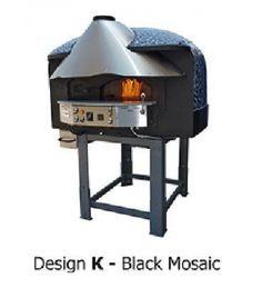 Four à pizza à bois combustion du gaz MIX120R, Série MIX-R