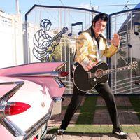 Shut The Front Door Elvis Can Walk Me Down Isle And Give Bride Las Vegas WeddingsLas Wedding PackagesElvis WeddingRenew