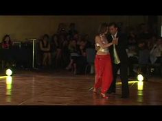 "Tango Nuevo by Burak & Maria. This is the kind of tango I like - slow and flowing. Song is ""Villurca"" by Yira"