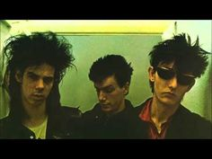 Nick Cave Mick Harvey and Rowland S. Howard of The Birthday Party (early Rowland S Howard, Peel Sessions, Red Right Hand, John Peel, The Boy Next Door, The Bad Seed, Nick Cave, New Romantics, Punk Goth