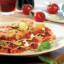 WeightWatchers.de: Weight Watchers Rezept - Zucchini Tunfisch Lasagne