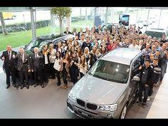 Azubi-Begrüßung 2014 der BMW Niederlassung München