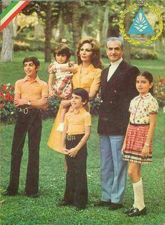 Pahlavi Royalty. Iran