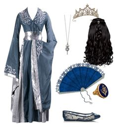 Medieval by xena-uchi-6 on Polyvore featuring Jimmy Choo, Monica Rich Kosann and TIARA