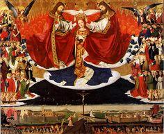Enguerrand Quarton, Koronacja Marii