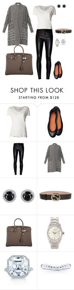 Sem título #1600 by analuli on Polyvore featuring moda, Diane Von Furstenberg, Brochu Walker, J Brand, Hermès, Rolex, Reeds Jewelers, Tiffany & Co., Elsa Peretti and Gucci