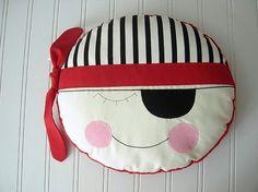 Pirate Pillow...Arrrrgggghhh                                                                                                                                                                                 More