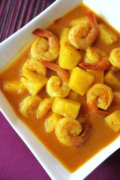 Southern Thai Sour Curry with Pineapple and Shrimp   SheSimmers