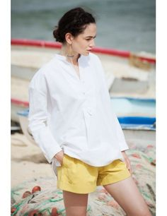 Kesme #shirt #white #linen #mediterranean #medwinds