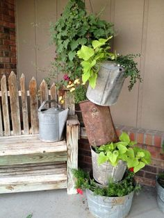 Prime Antique Galvanized Coal Bucket Galvanized Treasures Pinterest Largest Home Design Picture Inspirations Pitcheantrous