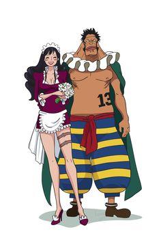 Baby5 Sai One Piece by Xsenii.deviantart.com on @DeviantArt