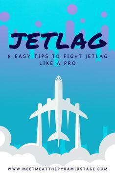 Jetlag is the nemesis of many travelers. Click through for 9 easy jetlag tips to make jetlag less severe on arrival at your destination.  #Jetlag #traveltips #traveldestinations #travel Paris Travel Tips, Travel Goals, Travel Advice, Budget Travel, Travel Guides, Travel Hacks, International Travel Tips, Travel Reviews, Jet Lag
