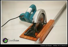 Sierra Circular, Circular Saw, Homemade Tools, Diy Tools, Carpentry Projects, Wood Projects, Serra Circular Manual, Diy Easel, Table Saw Jigs