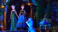 "Frozen Ever After, the first Disney Parks attraction inspired by the film ""Frozen,"" recently opened its doors at Epcot."